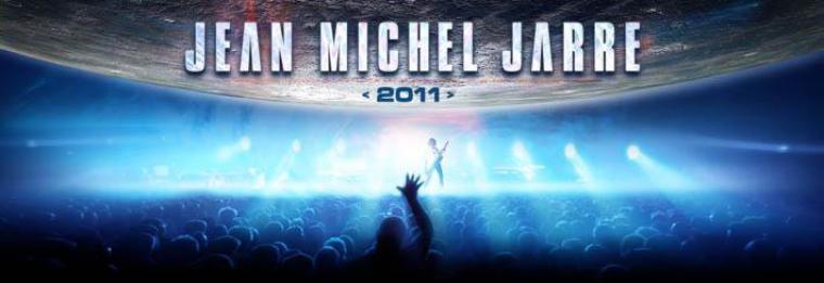Jean Michel Jarre tournée 2011