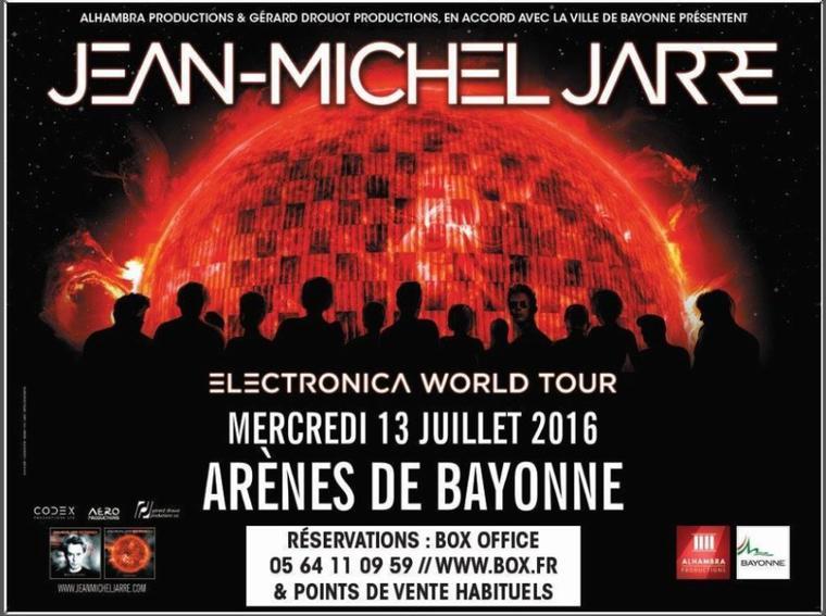 Jean Michel Jarre World Tour