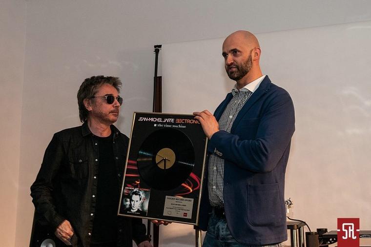 Jean Michel Jarre en Promo en Pologne