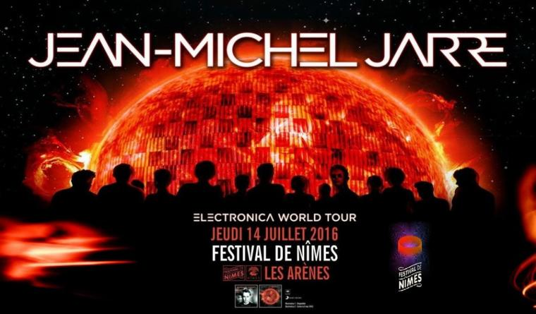 Jean Michel Jarre Europe Tour Nîmes