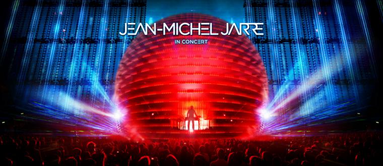 Jean Michel Jarre Electronica Tour Europe