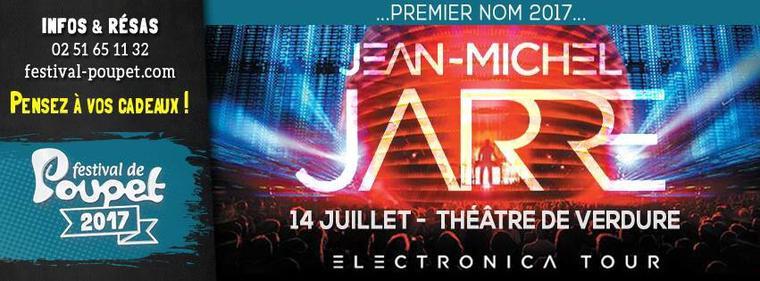 Jean Michel Jarre Electronica Tour 2017 14/07/2017 Festival de poupet