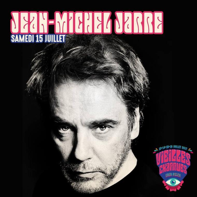 Jean Michel Jarre Electronica Tour 2017 Les Vieilles Charrues 15/07/2017