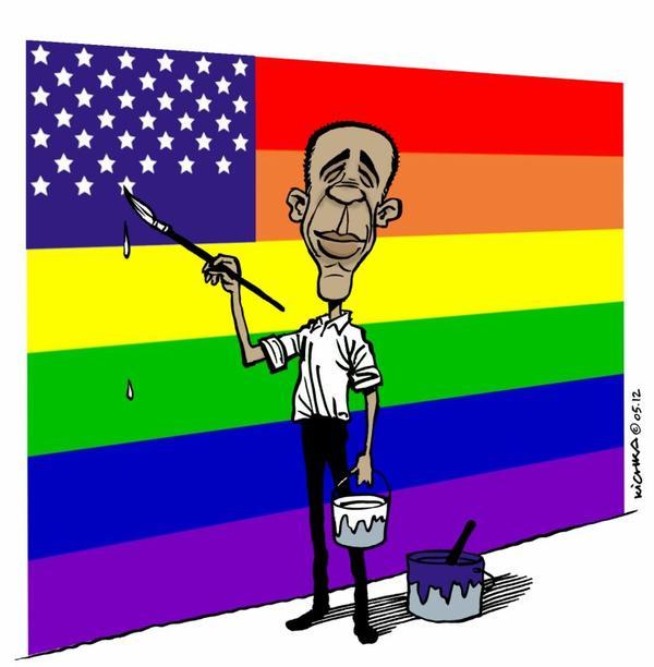 Ils l'ont dit:  Obama pour mariage gay