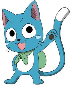 """""""Pourquoi suis-je bleu? Parce que je suis un chat!"""""""