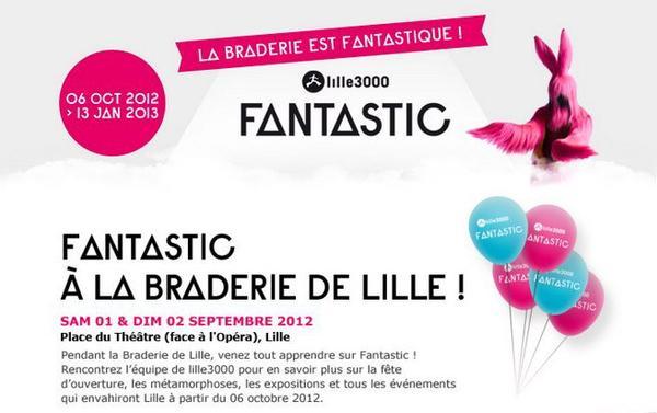 La Braderie avec Lille3000!!!