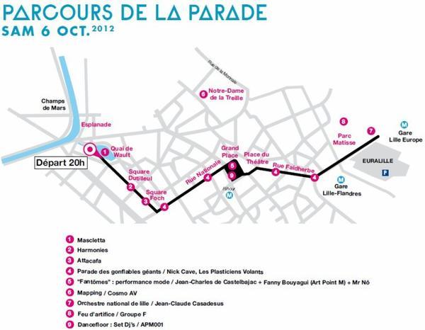 Lille 3000 - F∆NT∆STIC  : la Grande Parade du samedi 06 octobre 2012 !!