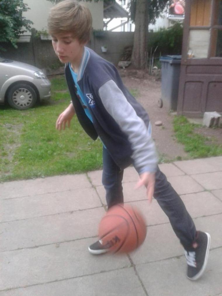 Champion de basket ^^