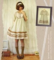 japanese fashion style : 森ガール(mori gahru) forest girl style