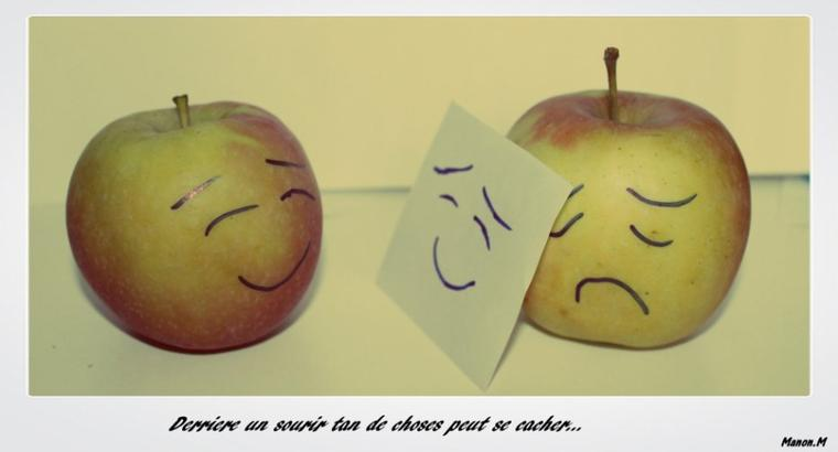 la joie ou la tristesse ? ..