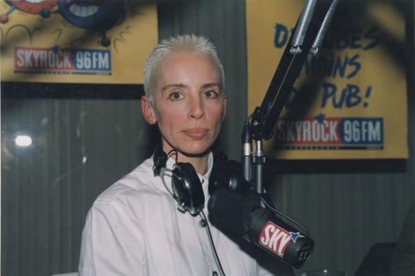 Géraldine, animatrice radio de La Voix du Lézard et Skyrock