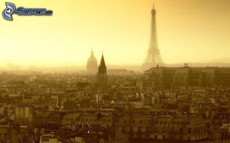 Paris' vue