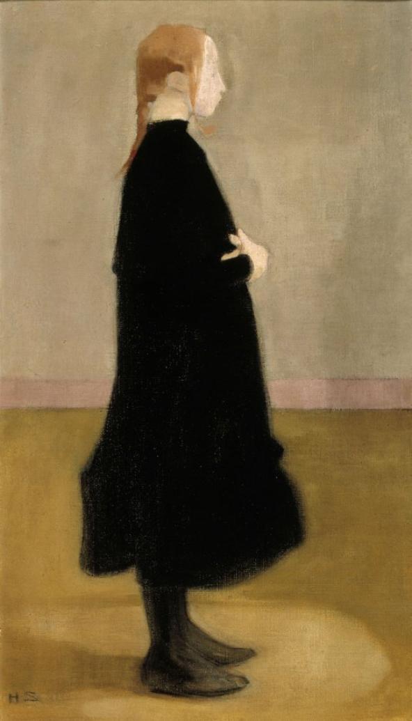 J'aime l'évolution de la peinture d'Helene Schjerfbeck