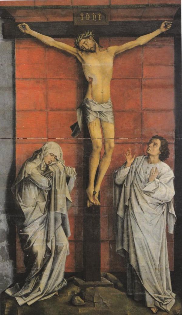 J'aime Jésus par Van der Weyden
