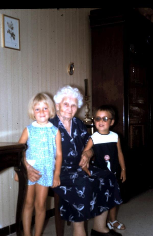 Germaine, mon arrière-grand-mère qui a passé quatre ans avec nous
