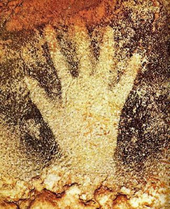 La main de l'homme