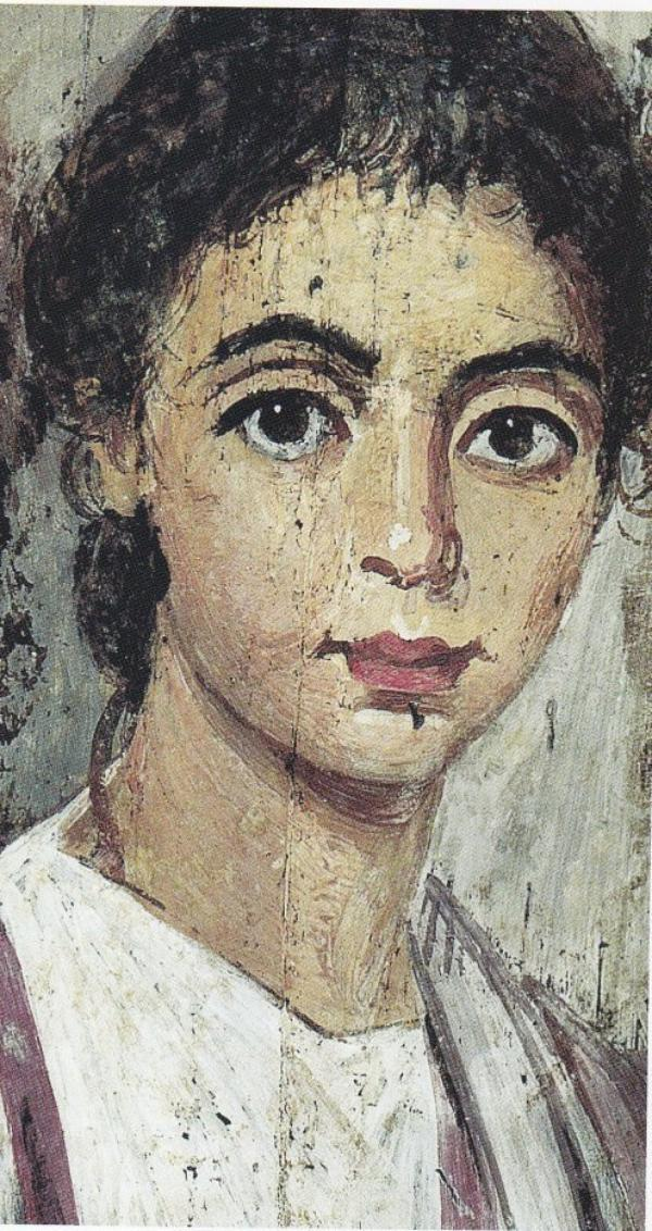 Portaits du Fayoum