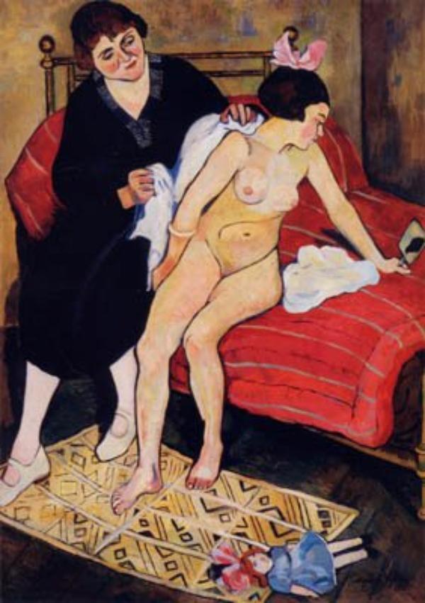 Artiste et mère d'artiste