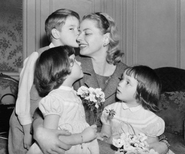 J'ai relu les Mémoires d'Ingrid Bergman