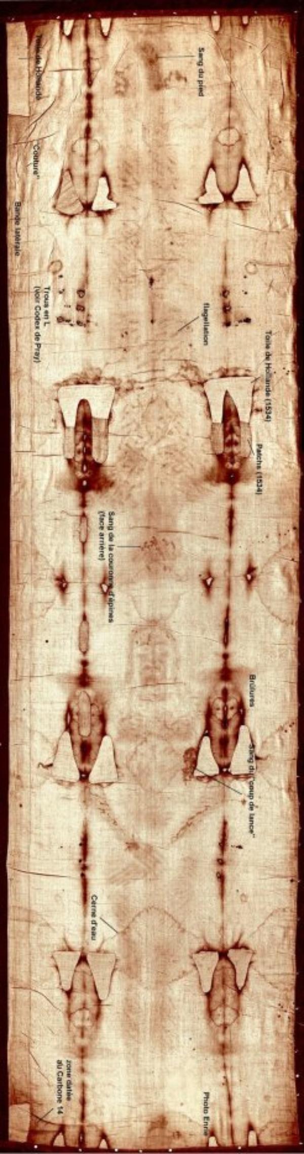 Le suaire de Turin est le linceul du Christ
