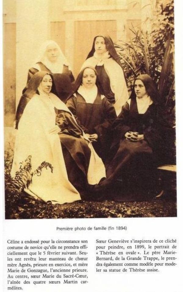 Une famille retirée du monde au Carmel de Lisieux