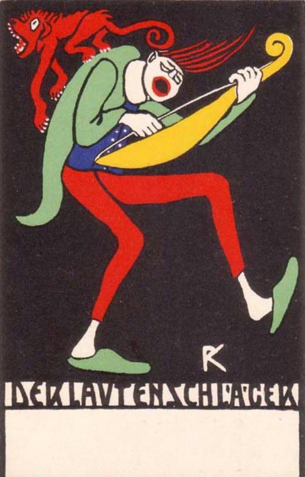 J'aime Rudolf Kalbach des Wiener Werkstätte