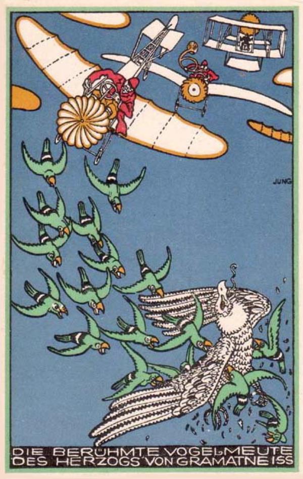 Je collectionne les cartes postales, et celles des Wiener Werkstätte en particulier