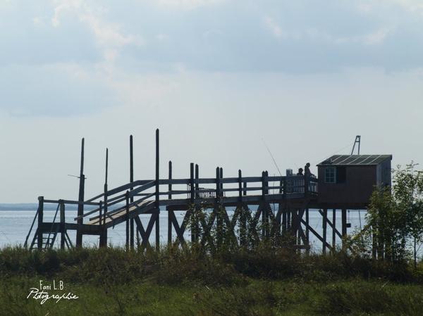 Cabane sur l'eau.