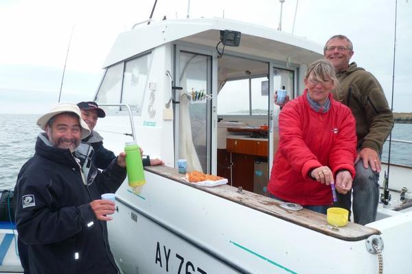 Sortie en mer samedi 23 mai 2015 à 2 bateaux