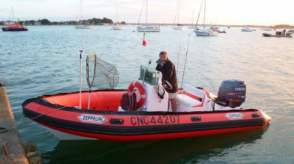 Sortie en mer samedi 4 juillet 2015 à 2 bateaux