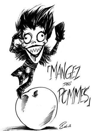 Quelque image de Death Note :D