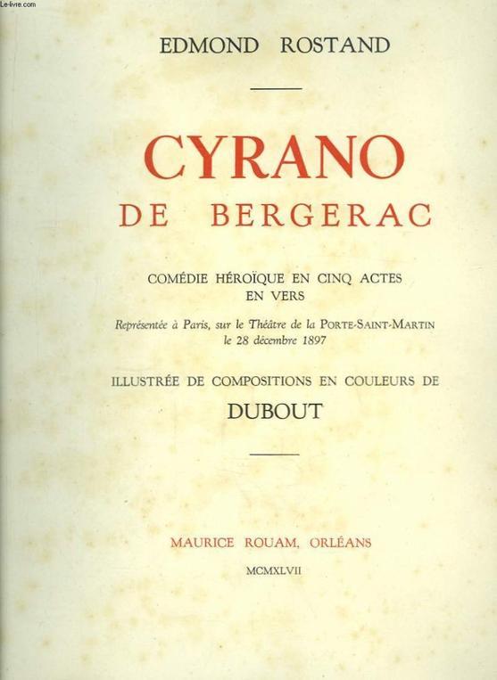 Cyrano de Bergerac (livre)