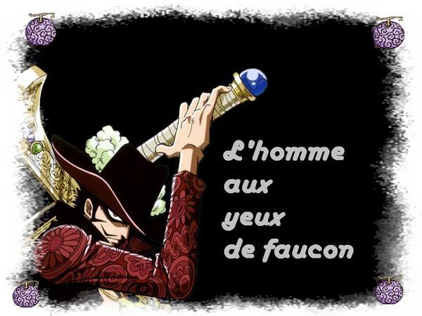 L'homme aux yeux de faucon One Piece