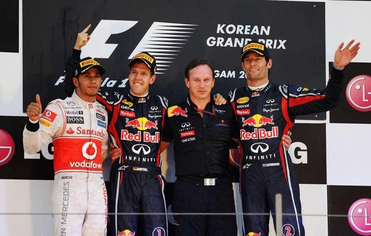 Corée du Sud  Résultats du 16° Grand Prix