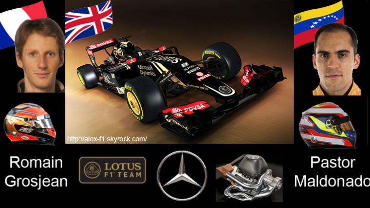 > 8]Lotus E23 Mercedes- L'année du retour de Lotus sur le devant de la scène ?