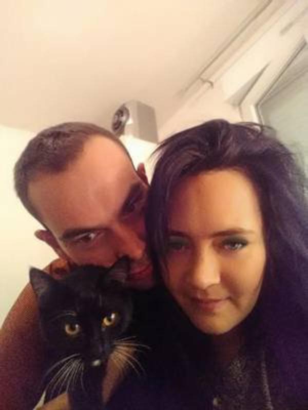 Avec mon démon. Et le papa