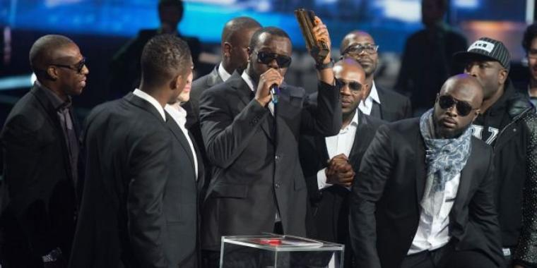 sexion d'assaut au music award