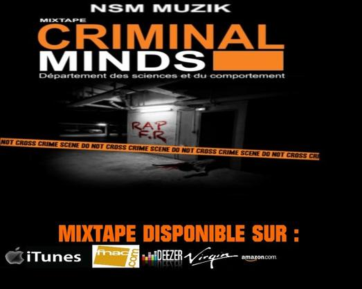 Sortie de CRIMINAL MINDS MIXTAPE