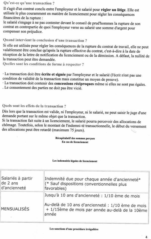 Licenciement : procédures, formalités et conséquences