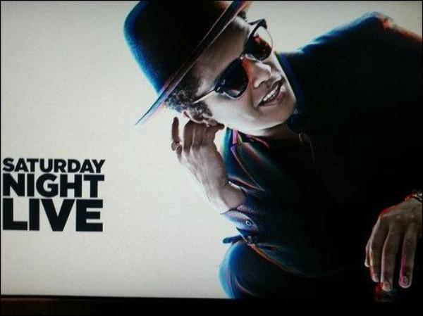 21.10.2012 - Bruno était sur le plateau de Saturday Night Live.