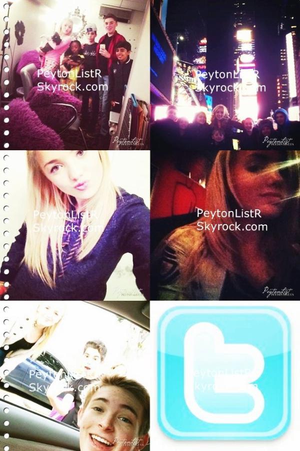Nouvelles photo twitter de Peyton List!