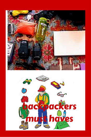 Must Haves Travel Accessories of Backpackers