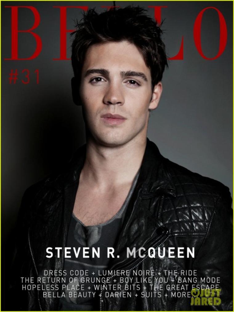 Photoshoots Steven R. McQueen Bello Magazine