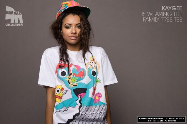 Photoshoots Kat Graham For Din Mak Collection