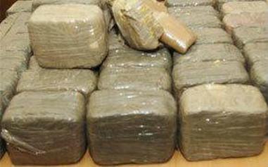 2,5 millions d'euros de drogue saisis au Gosier