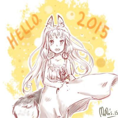 Fan'art et bonne année ! :) ♥