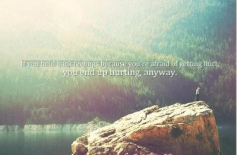 End up hurting.