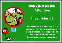 Divers >> Info public >> Parking voiture animaux