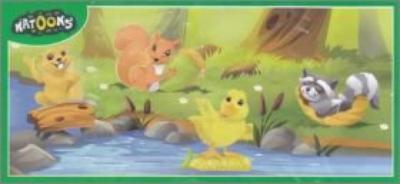 SD005 à SD010 et SD124 et SD125 Bébés animaux au ruisseau