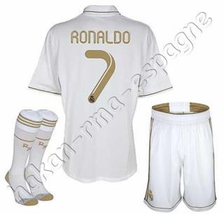 Nouveaux Maillots du Real Madrid CF (domicile)